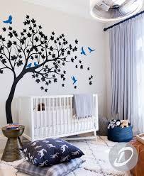 Large Tree Wall Sticker Tree And Birds Wall Art Tattoo Large Etsy Nursery Wall Decals Tree Nursery Wall Decals Tree Wall Decal