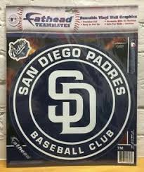 San Diego Padres Fathead Teammates Peel Stick Wall Decal Graphics Closeout 885671057580 Ebay