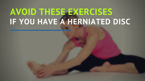 4 por herniated disc exercises to