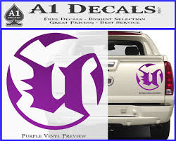 Unreal Tournament Ut99 Gaming Decal Sticker A1 Decals