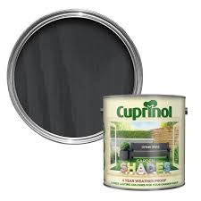 Cuprinol Garden Shades Urban Slate Matt Wood Paint 2 5 Departments Diy At B Q