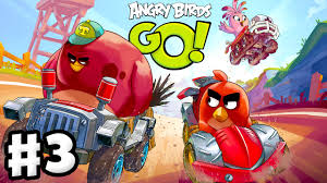 Angry Birds Go! 2.0! Gameplay Walkthrough Part 3 - Moustache Pig ...