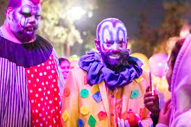 my night as a clown inside