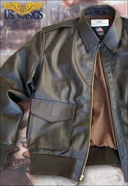 army a 2 cowhide leather flight jacket