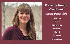 On the issues: House District 96 Candidate Katrina Smith   PenBay Pilot