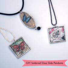 how to make soldered pendants