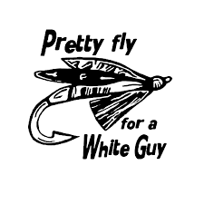 14cm 12 7cm Pretty Fly For A White Fishing Guy Car Accessories Car Sticker And Decals Decoration Black Silver C8 1296 Sticker Market Sticker Lettersticker Made In Japan Aliexpress