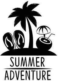 Amazon Com Yws Vinyl Sticker Decal Summer Adventure Beach Life Sticker Laptop Car Truck Window Bumper Notebook Vinyl Decal Sma5334 Home Kitchen