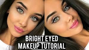 eyes look bigger with makeup tutorial