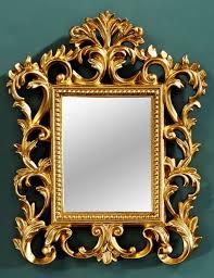 casa padrino baroque wall mirror gold