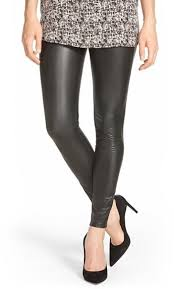 hue faux leather leggings 45