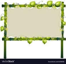 vine around frame royalty free vector image