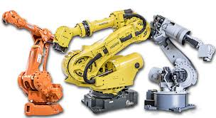 main parts of an industrial robot