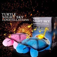 Tortoise Night Light Usb Musical Turtle Night Light Stars Sky Constellation Projector Lamp Children Bedroom Night Light Wish