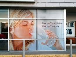 Perforated Window Decal For Storefront Window Decals Shop Window Stickers Window Graphics