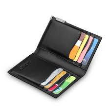leather mens credit card wallets