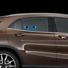 Auto Parts Accessories Waterproof Reflective Cat Eyes Car Bumper Sticker Rearview Mirror Decal Shan Smaitarafah Sch Id
