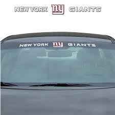 Team Promark New York Giants Windshield Decal In The Exterior Car Accessories Department At Lowes Com