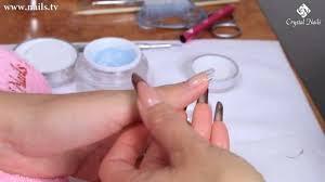 sculpted gel technique