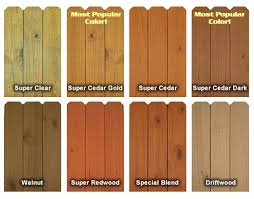 Finish Colors Cedar Fence Stain Staining Deck Deck Stain And Sealer