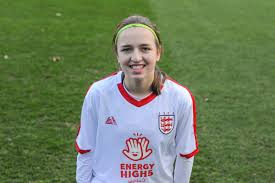 Poole's Lucy Cooper makes international football debut | Bournemouth Echo