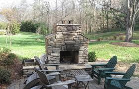 fireplace patio backyard ideas awesome