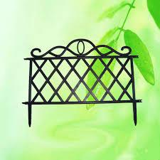 plastic garden fence garden fence