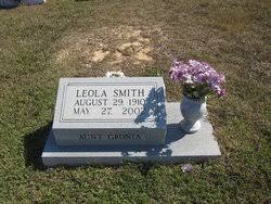 """Docial Leola """"Aunt Gronia"""" Smith (1910-2002) - Find A Grave Memorial"""