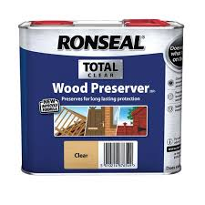 Ronseal Total Wood Preserver Clear 2 5l Wickes Co Uk