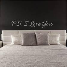 Wall Sticker Love Quote Ps I Love You Fixate