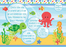 Bajo El Mar Bebe Ducha Invitacion Colores Por Littledarlingexp 12 00 Baby Shower Invitaciones Temas De Baby Shower Fondo De Mar