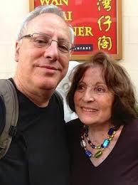 Hilda Lewis and Prof. Benny Shilo | | WeizmannCompass