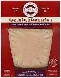 port wine duck liver pork mousse