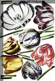 3d Dutch Floral Colorful Tulips Wall Decal Sticker Wall Decals Wallmur