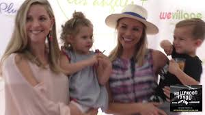 Abigail Ochse and Julie Solomon at the Grand Opening Party For WeVillage in  Los Angeles - YouTube
