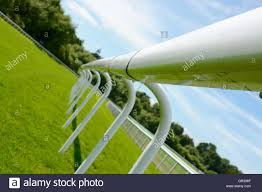 Fence At A Horse Race Track Stock Photo Alamy
