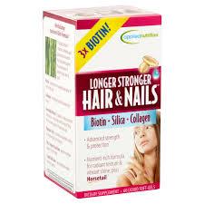 longer stronger hair nails