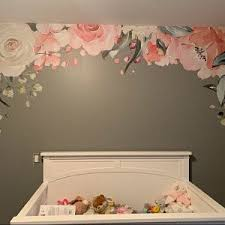 Pin By Vinita Metha Chhabra On Wall Design In 2020 Floral Wall Decals Nursery Wall Decor Wall Decor Branches