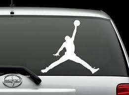Air Jordan Jumpman Vinyl Decal Auto Graphics Wall Phone Laptop Sticker Shoe Box Ebay
