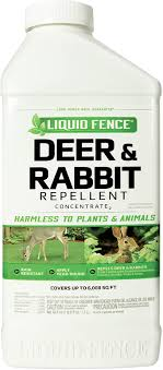 Amazon Com Liquid Fence Deer Rabbit Repellent Concentrate 40 Ounce Garden Outdoor