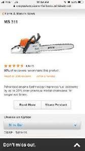 stihl 450 tools pok