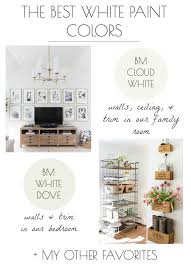 the best white paint colors my tried