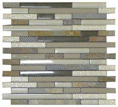 W10 Grey Smoke Quartzstone Brick Glass Mosaic - contemporary - bathroom  tile - los angeles - newglasstile…   Contemporary bathroom tiles, Patio  tiles, Tile bathroom