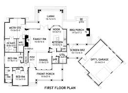 house plans with attached guest tags