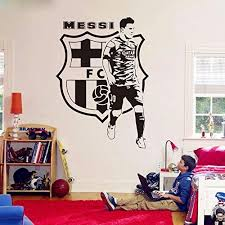 Amazon Com Byron Hoyle Wall Decals Barcelona Football Player Decals Soccer Football Player Wall Sticker Vinyl Art Boy Room Decor Home Kitchen