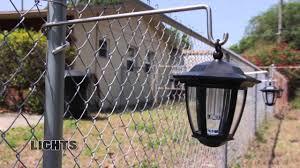 Pole Grabber The Universal Hanger For The Chain Link Fence Chain Link Fence Backyard Fences Fence Decor