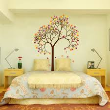 Aspen Tree Wall Decal Sticker Vinyl Nursert Art Leaves And Birds 1267 Innovativestencils