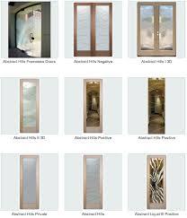 glass front door frosted glass door