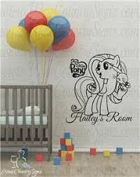 My Little Pony Fluttershy Personalize Nursery Car Window Wall Decal Sticker Ebay