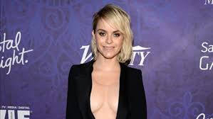 Taryn Manning Gives Everyone an Eyeful in This Plunging LBD   Entertainment  Tonight